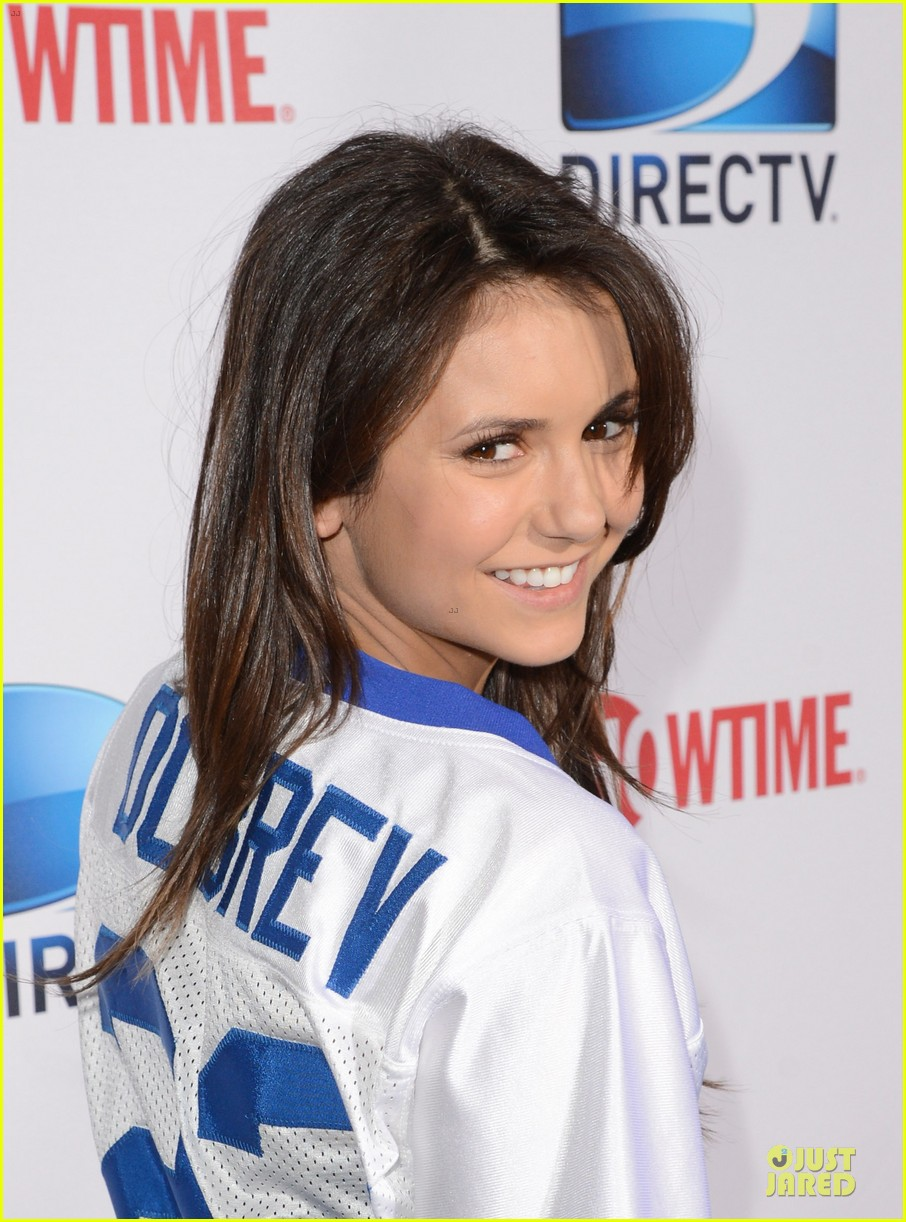 ian somerhalder nina dobrev celebrity beach bowl party couple 062803193