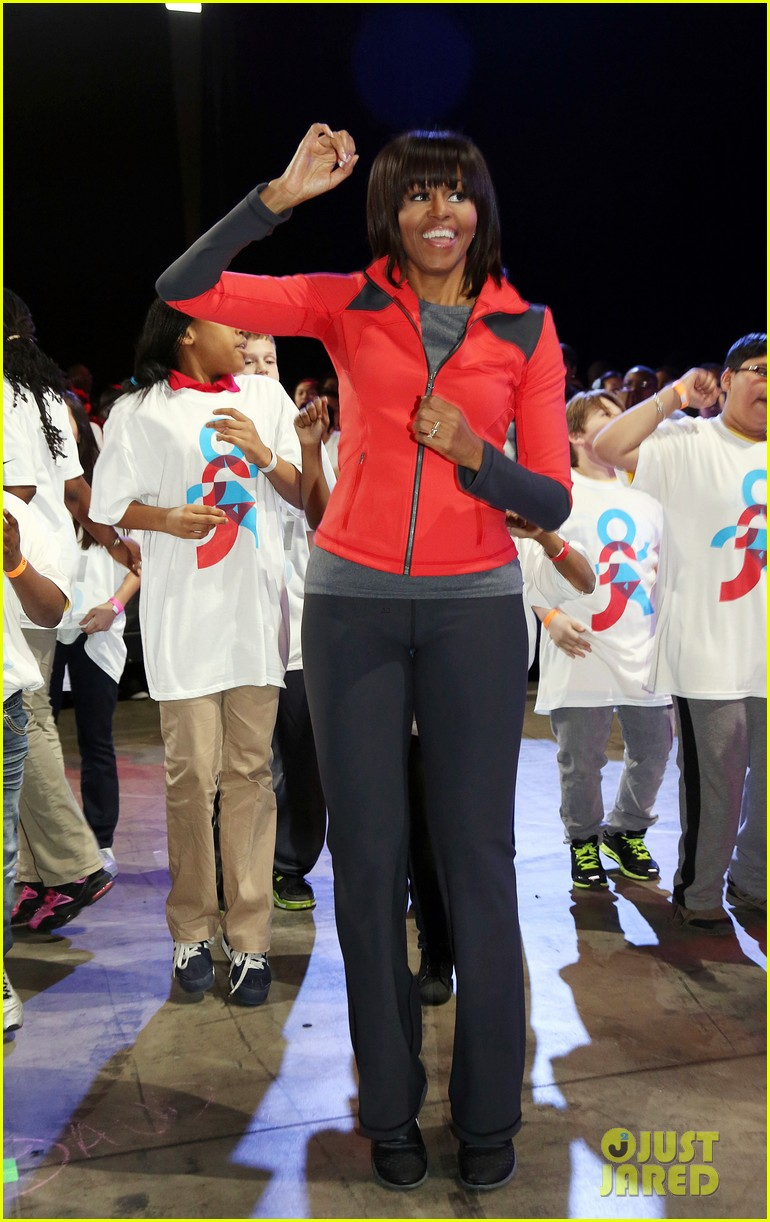 michelle obama school exercise program with jordin sparks 01