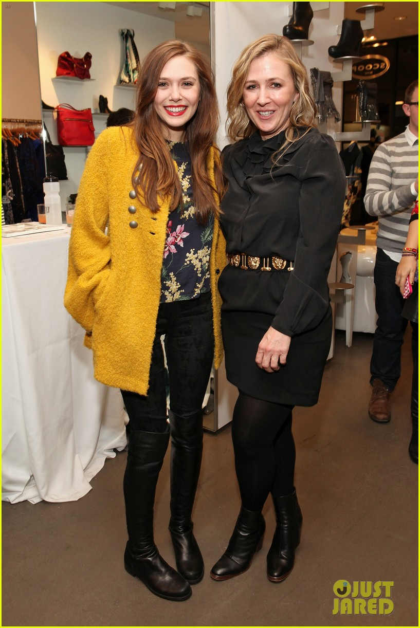 elizabeth olsen cher coulter capsule collection event 07
