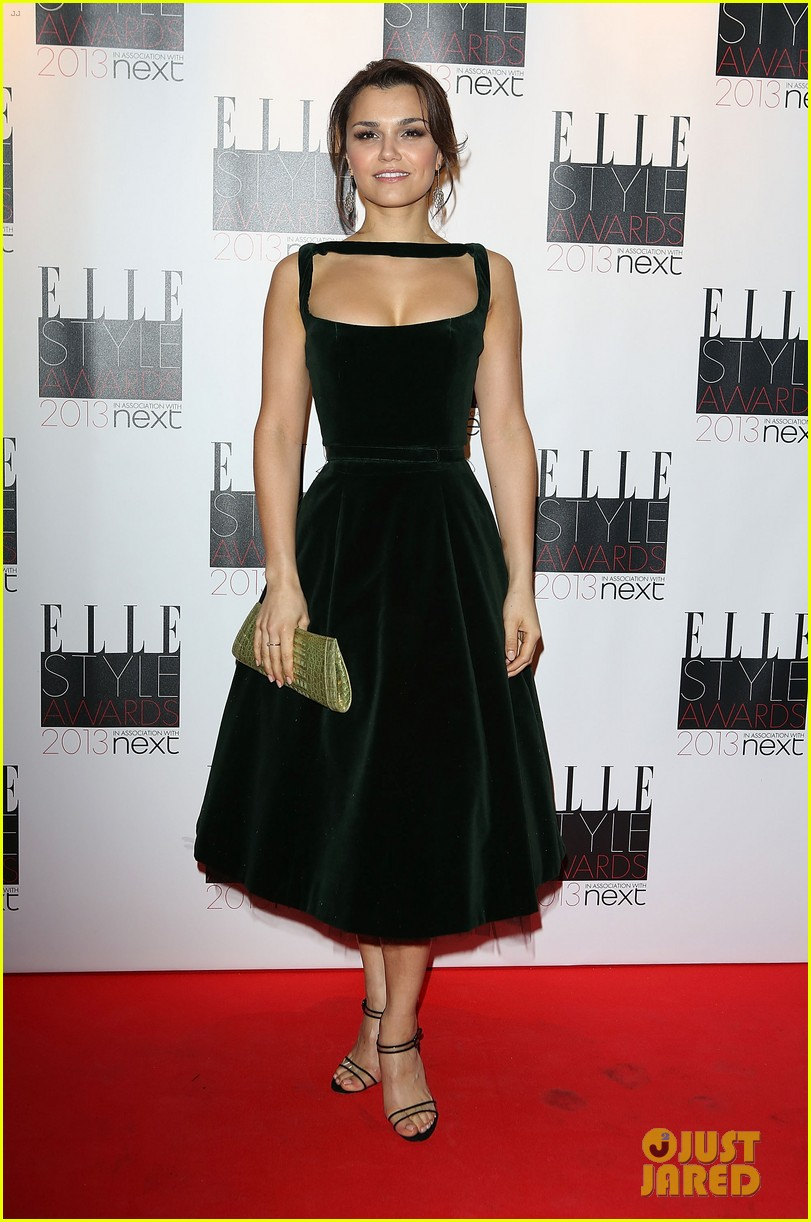 elizabeth olsen samantha barks elle style awards 2013 05