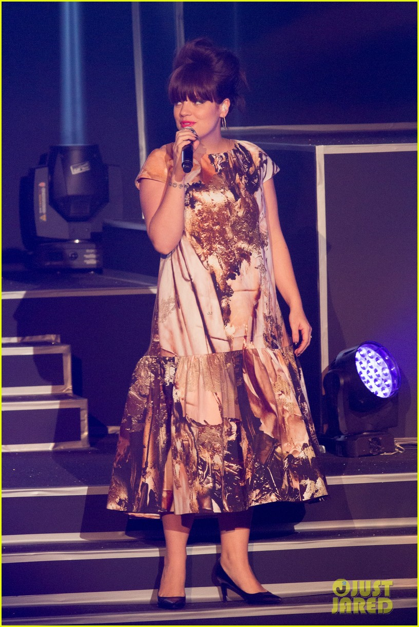 rita ora lily allen etam live lingerie fashion show 022821633