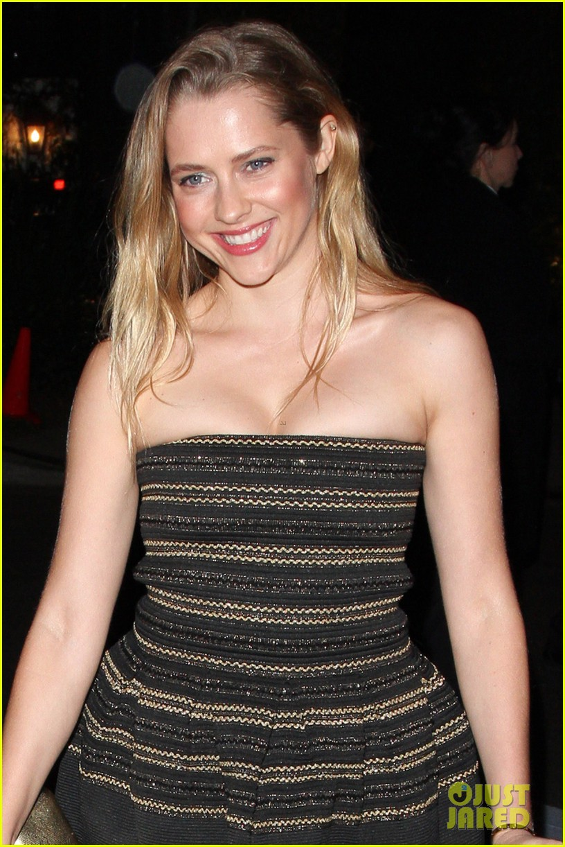 teresa palmer paul walker pre oscar parties 02