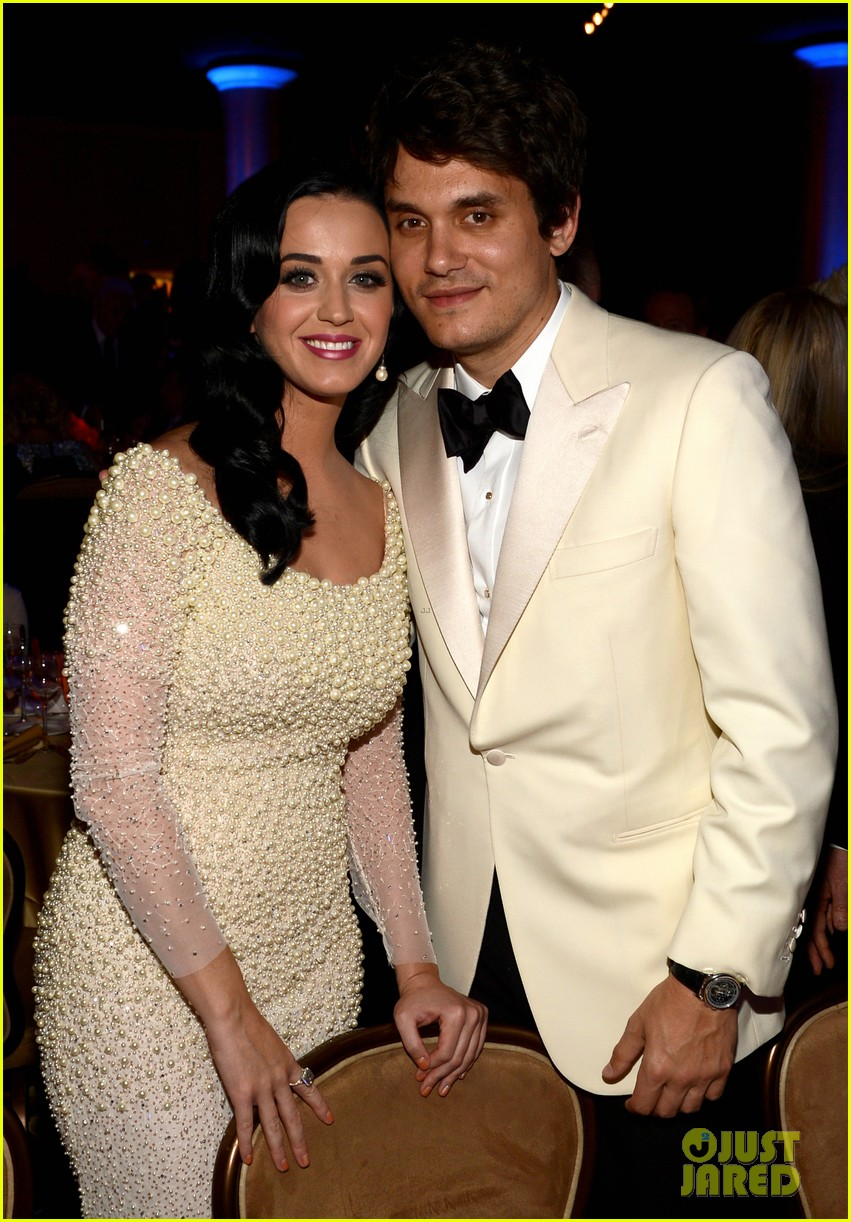katy perry john mayer clive davis pre grammy party 2013 03
