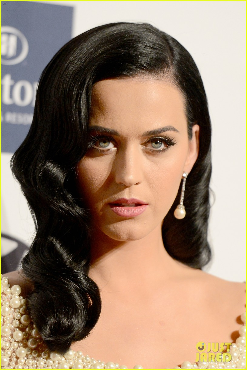 katy perry john mayer clive davis pre grammy party 2013 14