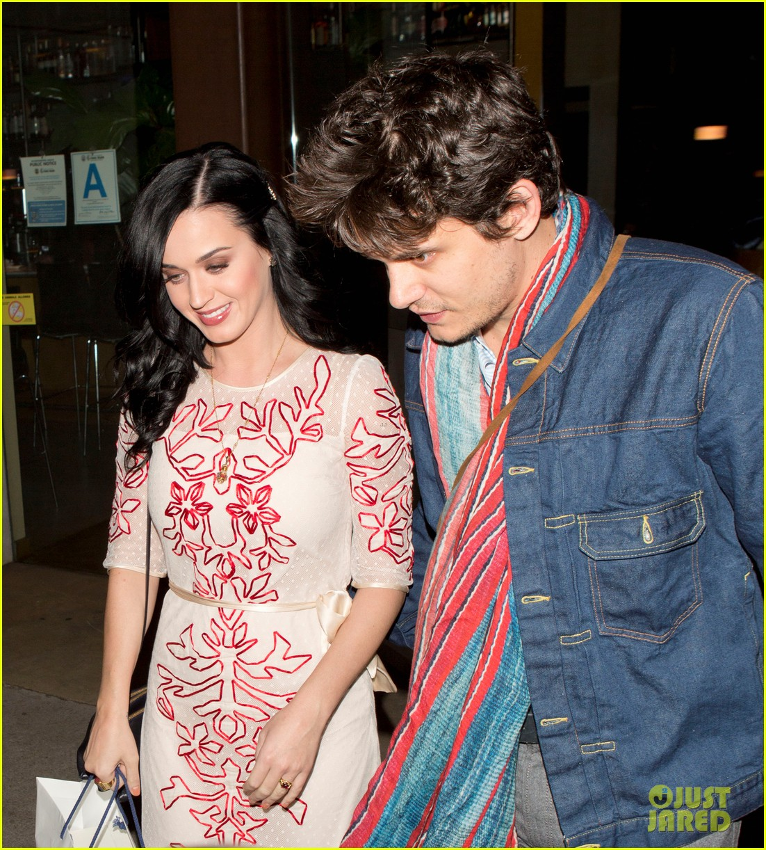 katy perry john mayer valentines day at the cut 022812695
