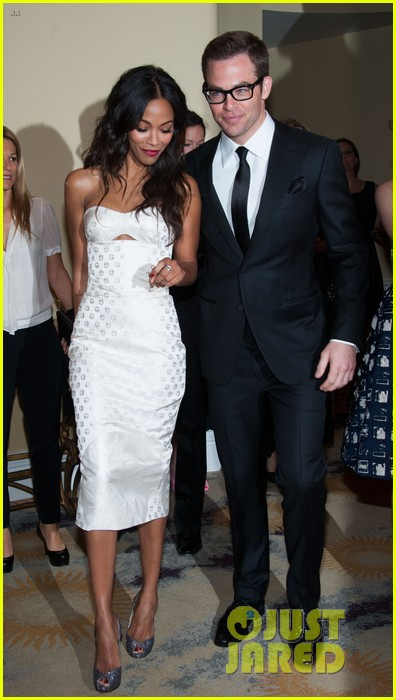 chris pine zoe saldana academy tech awards 2013 07