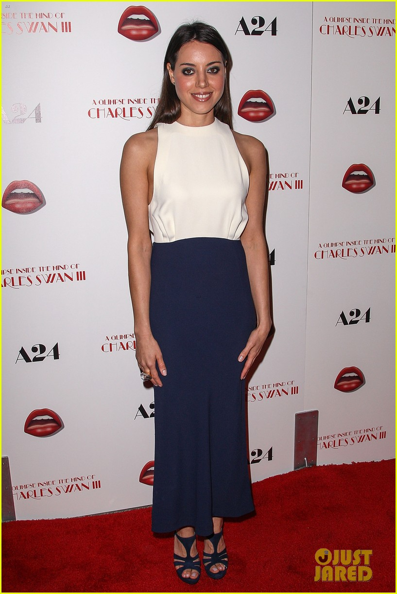 aubrey plaza the mind of charles swan iii premiere 03
