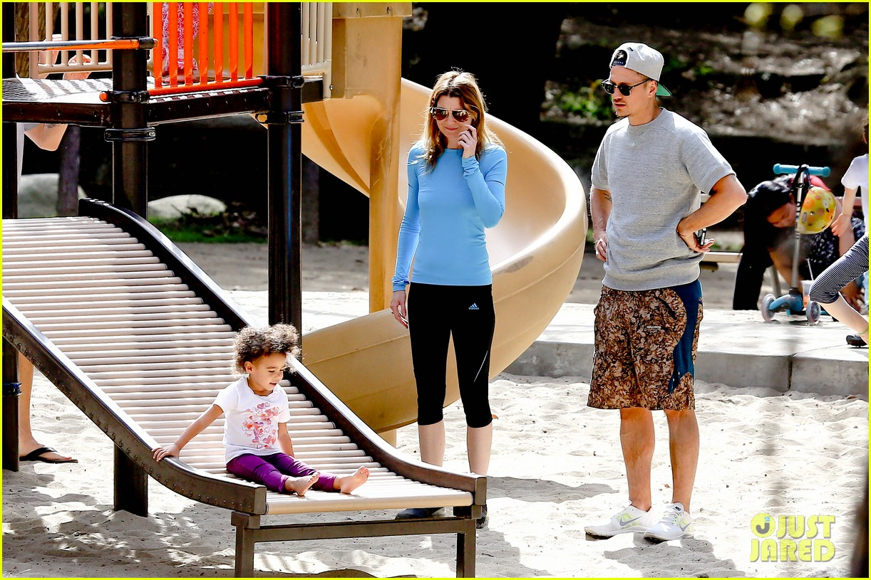 ellen pompeo sliding with stella 052813745