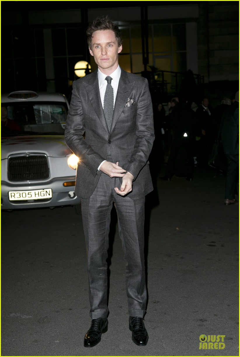 eddie redmayne luke evans british film awards 2013 012804892