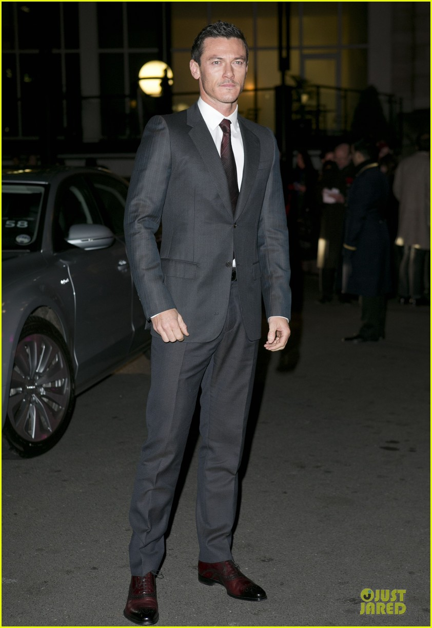 eddie redmayne luke evans british film awards 2013 03