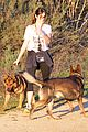 nikki reed super bowl hiking with shirtless brother nathan 13