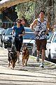 nikki reed dog run with brother nathan 08
