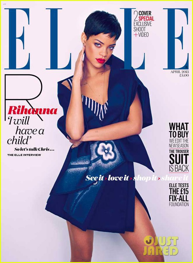 rihanna covers elle uk april 2012 01