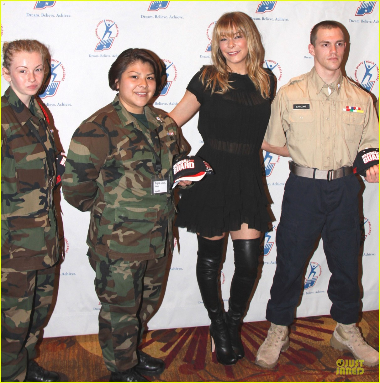 leann rimes youth national guard challenge 05
