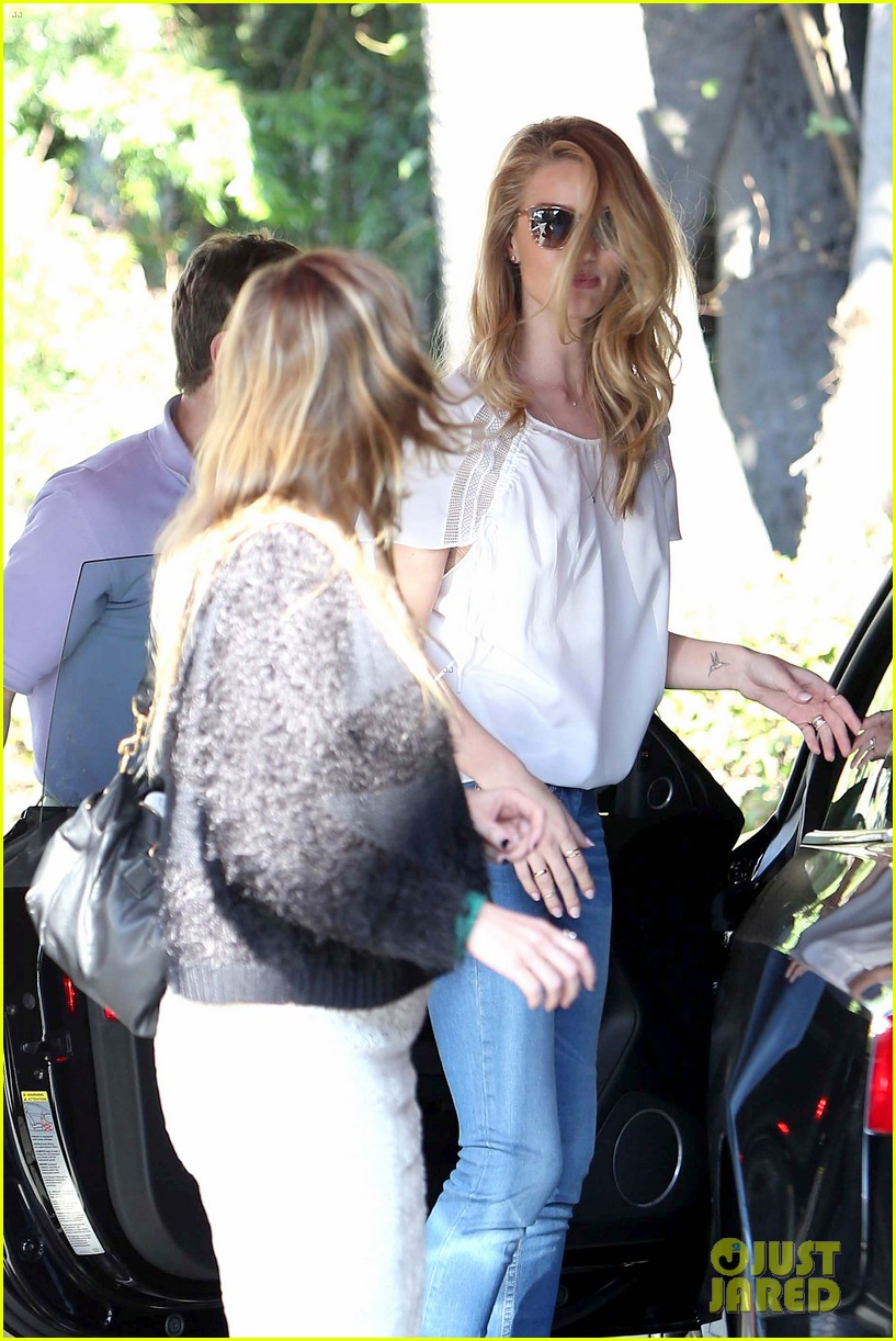 rosie huntington whiteley topless in cher coulter jeans 16