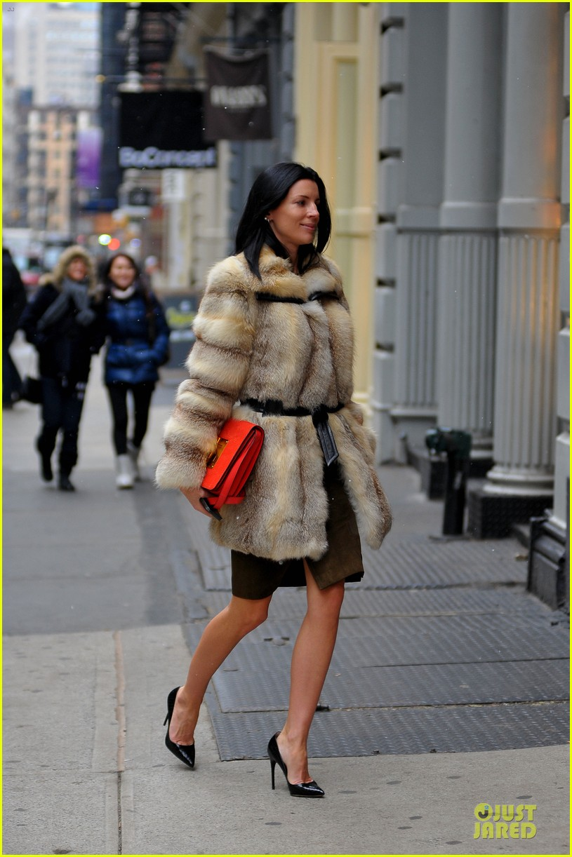 liberty ross fur coat soho shopping 03