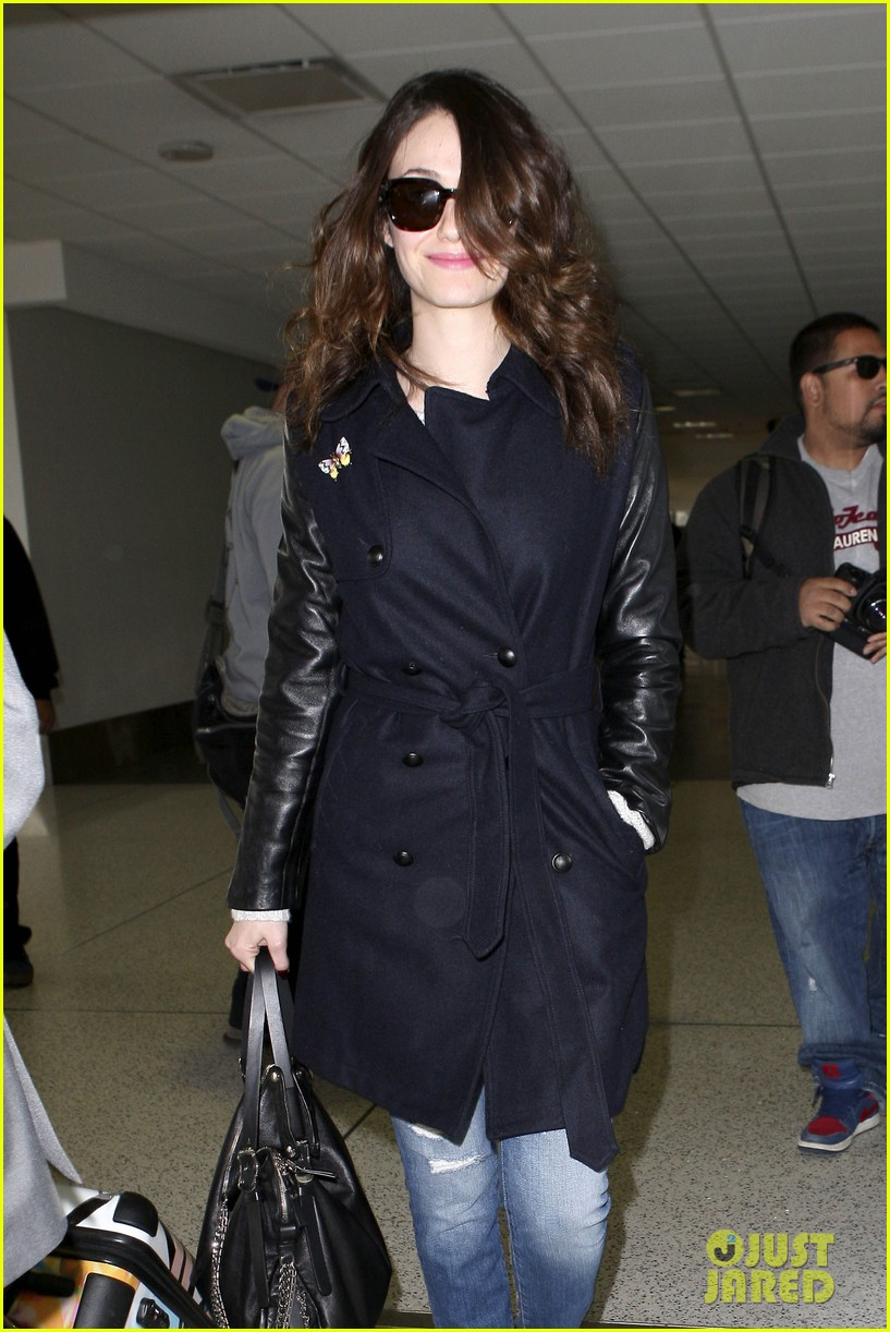 emmy rossum blizzard bound for new york city 082807296