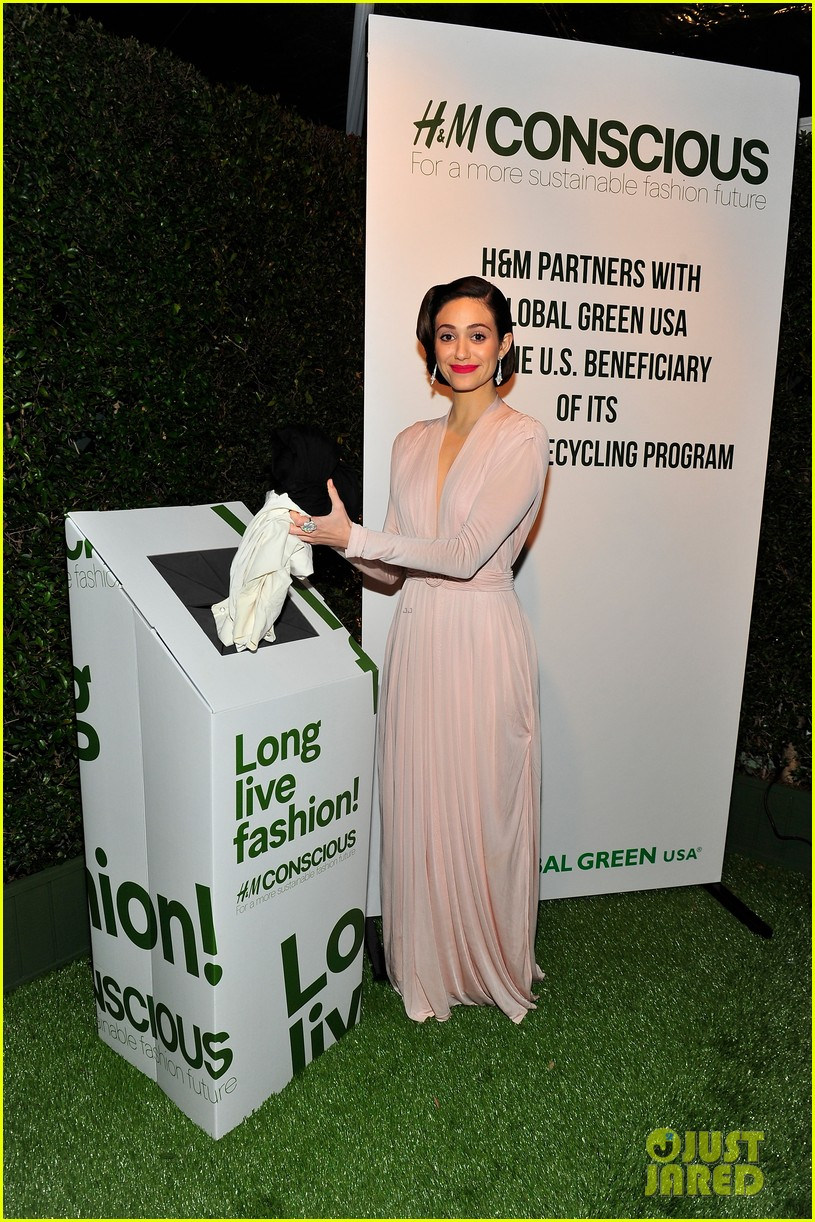 emmy rossum sophia bush global green pre oscars party 09