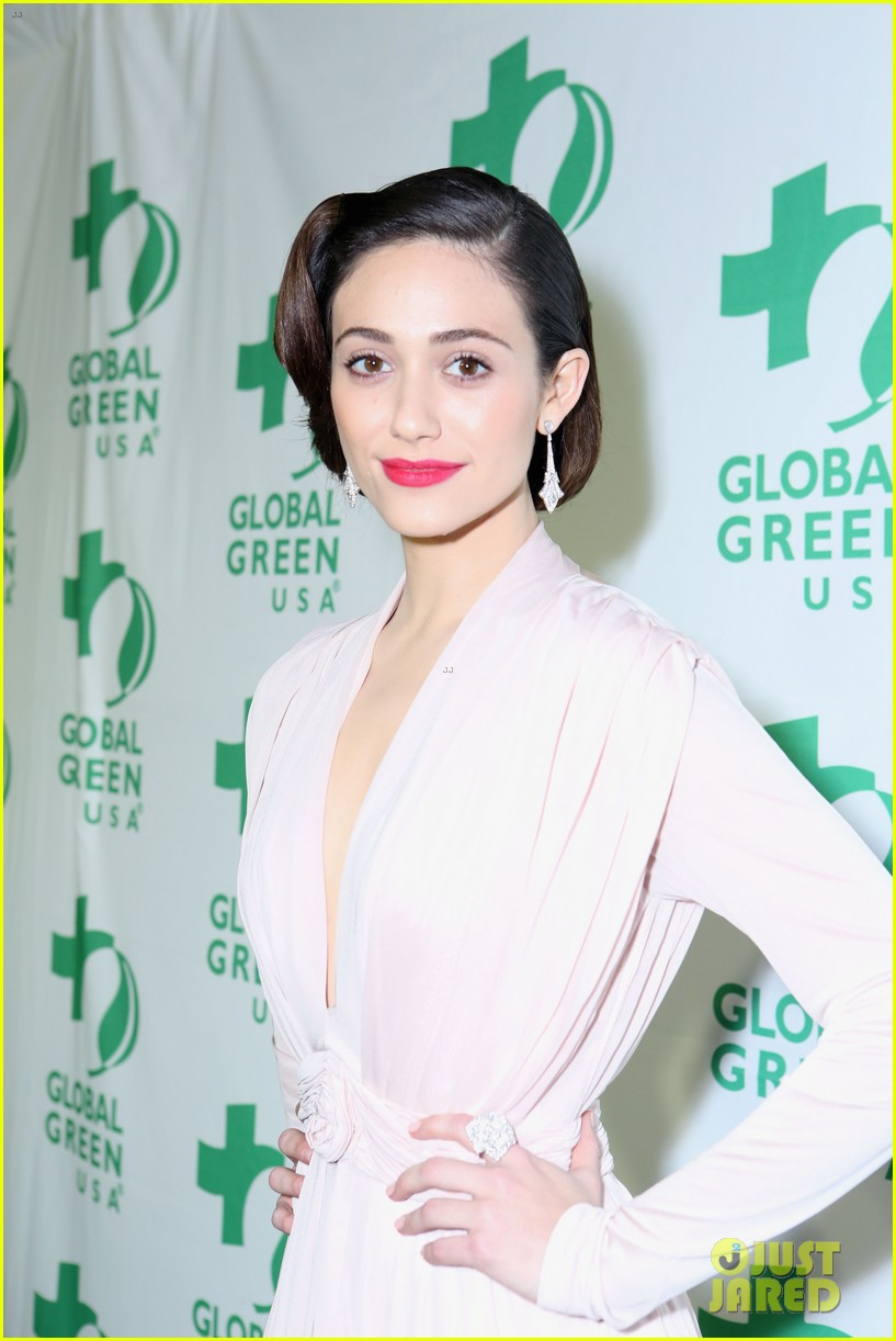emmy rossum sophia bush global green pre oscars party 10