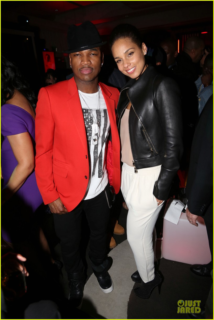 alicia keys kelly rowland grammy after parties 012810248