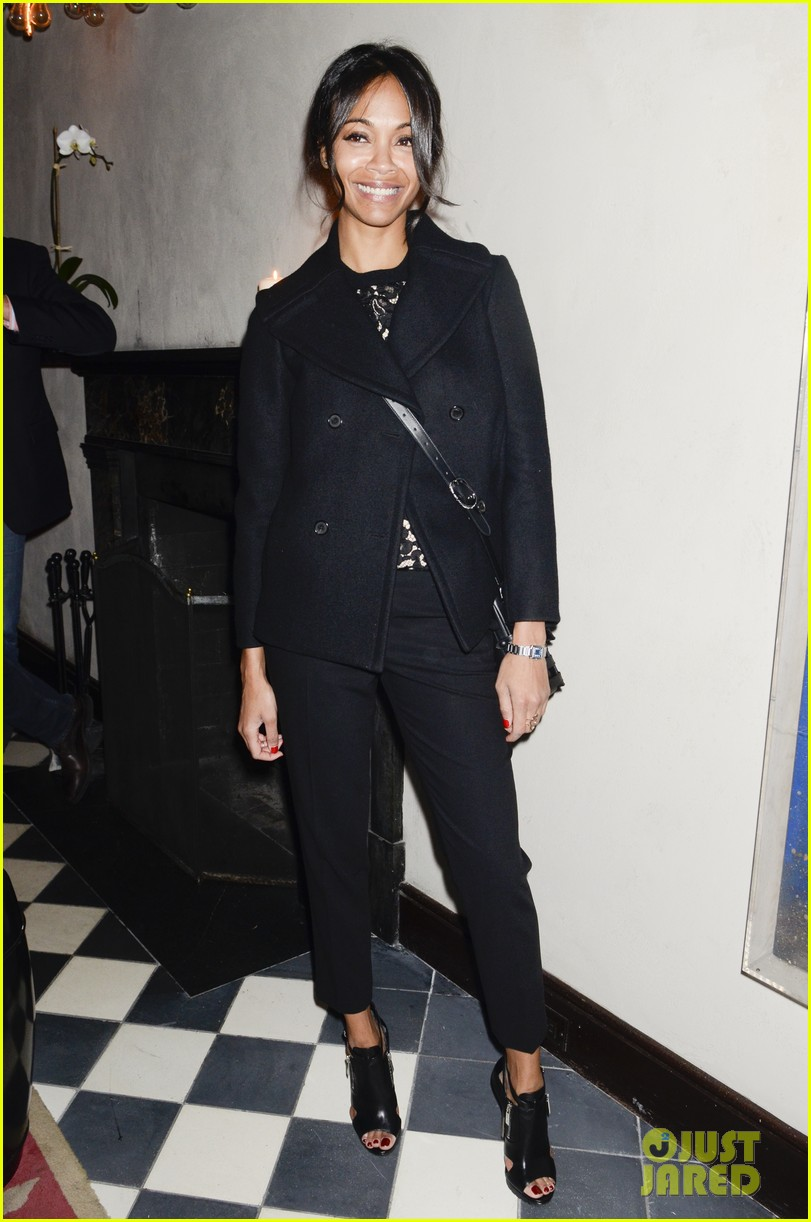 zoe saldana gents launch party 03