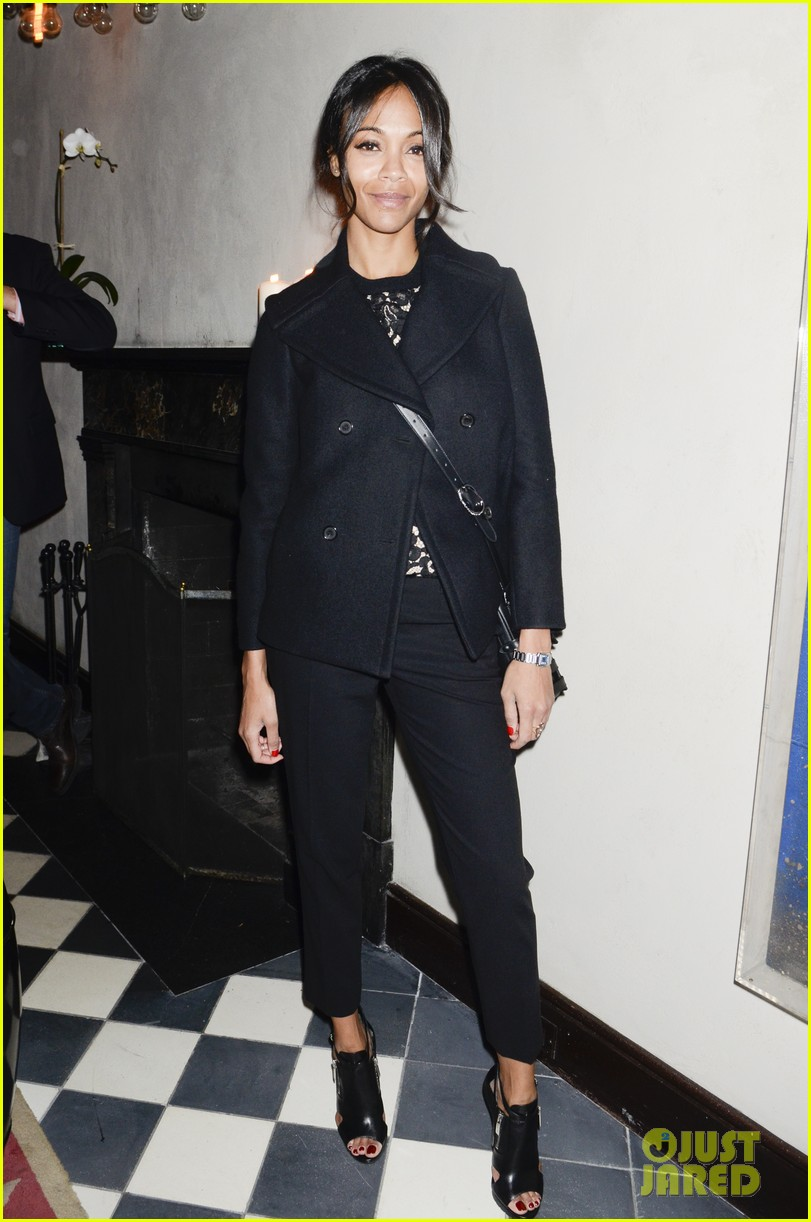 zoe saldana gents launch party 07
