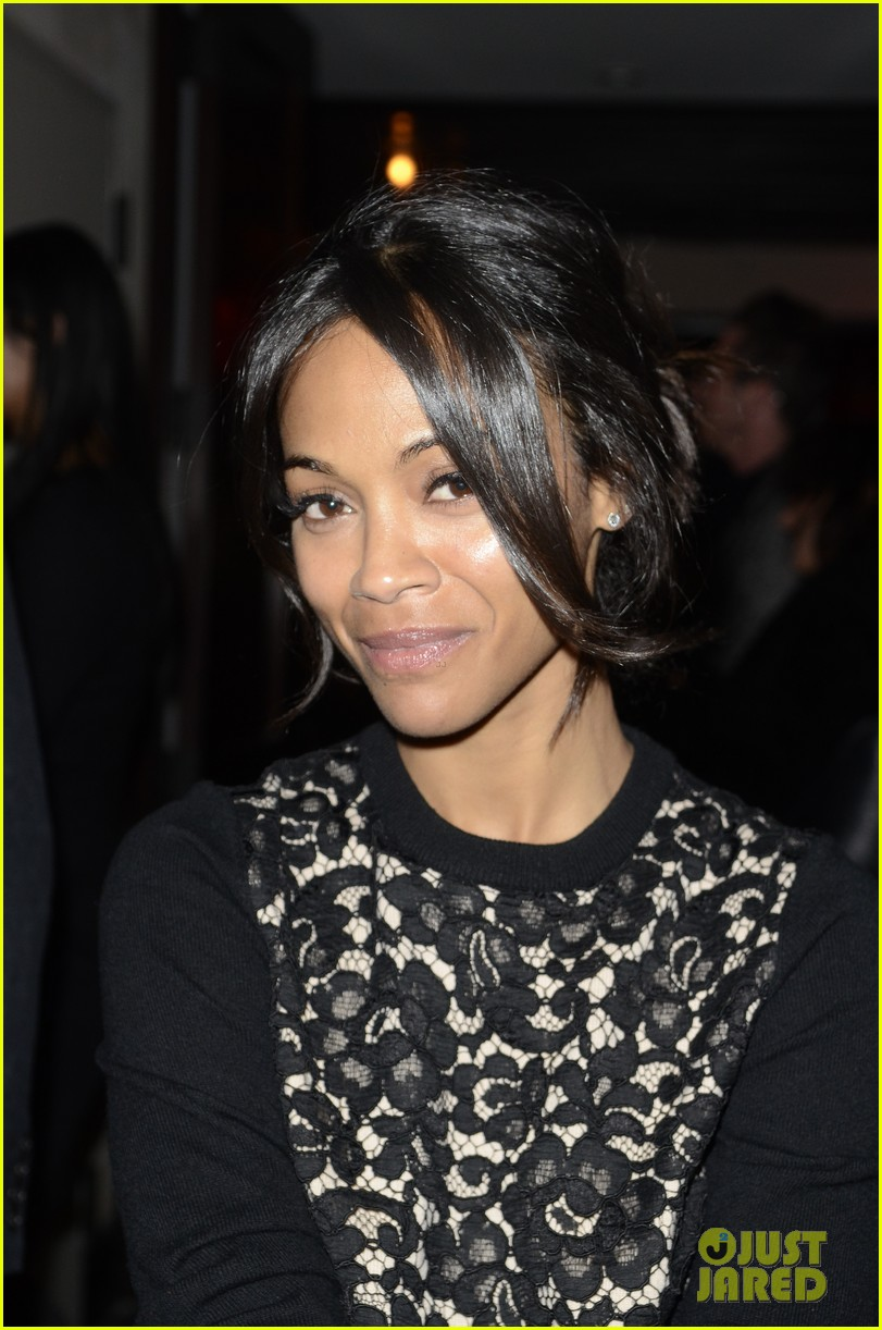 zoe saldana gents launch party 08