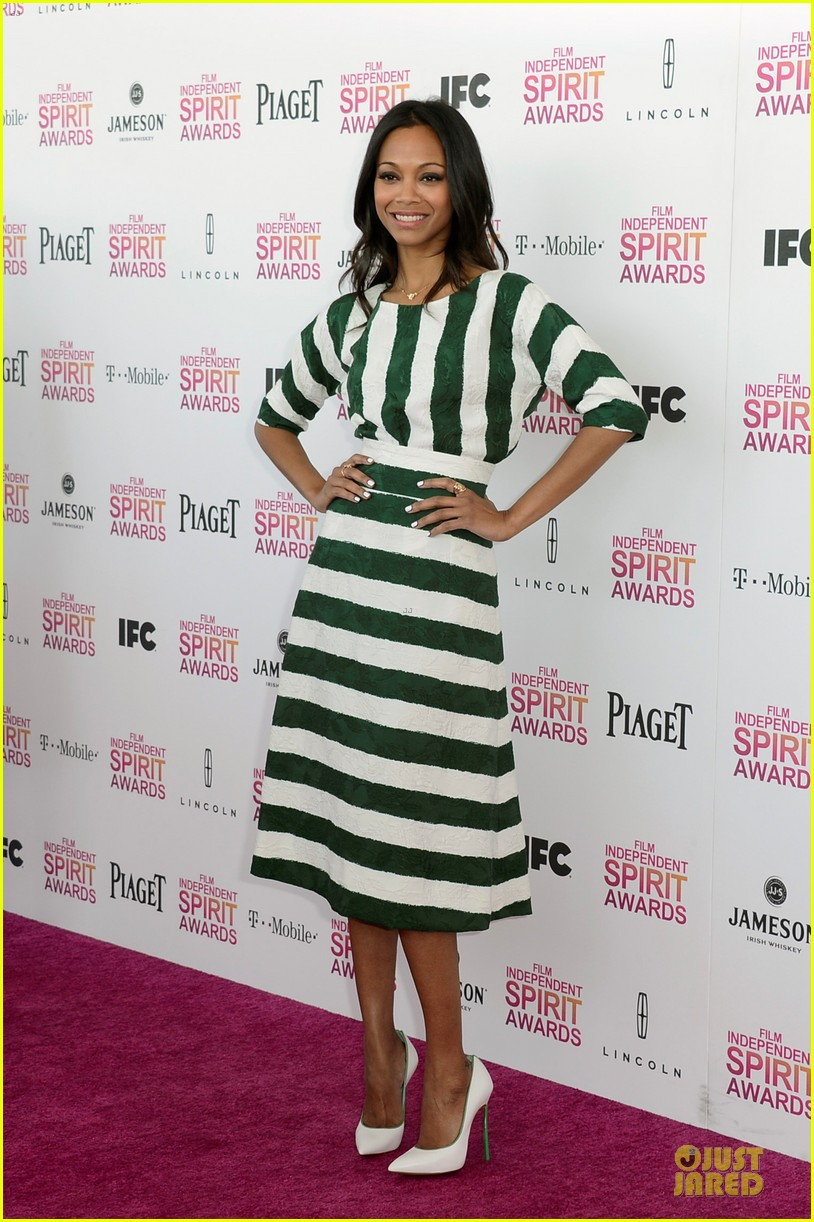 zoe saldana independent spirit awards 2013 032817924