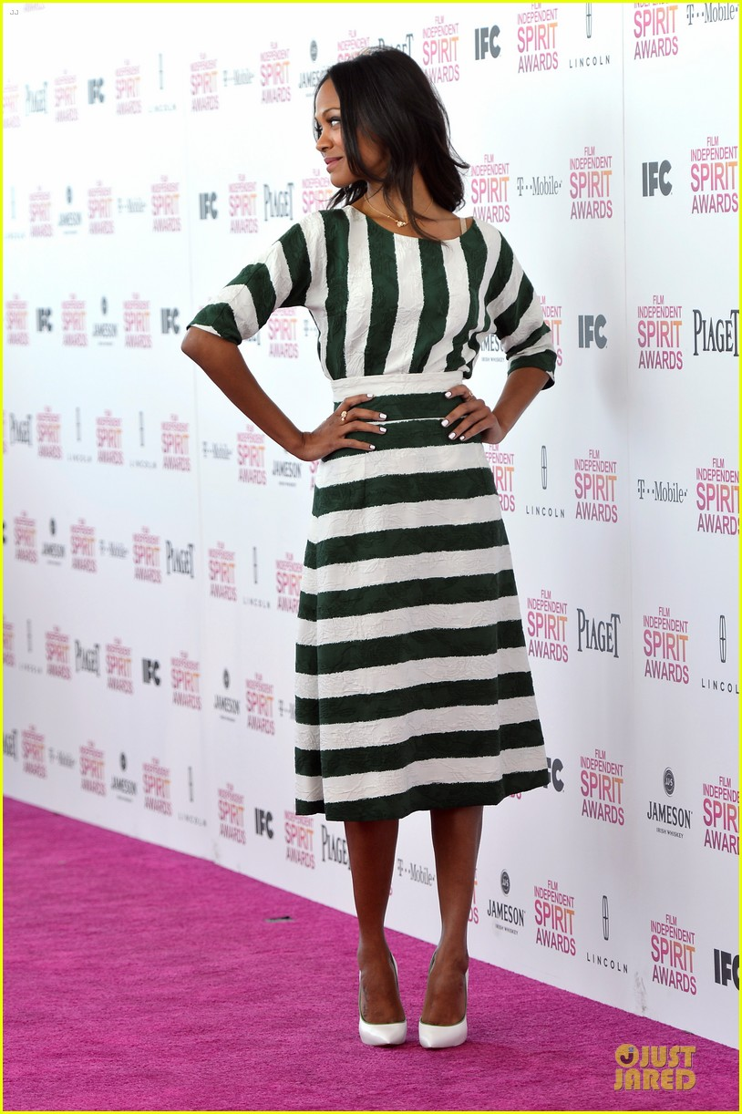 zoe saldana independent spirit awards 2013 05