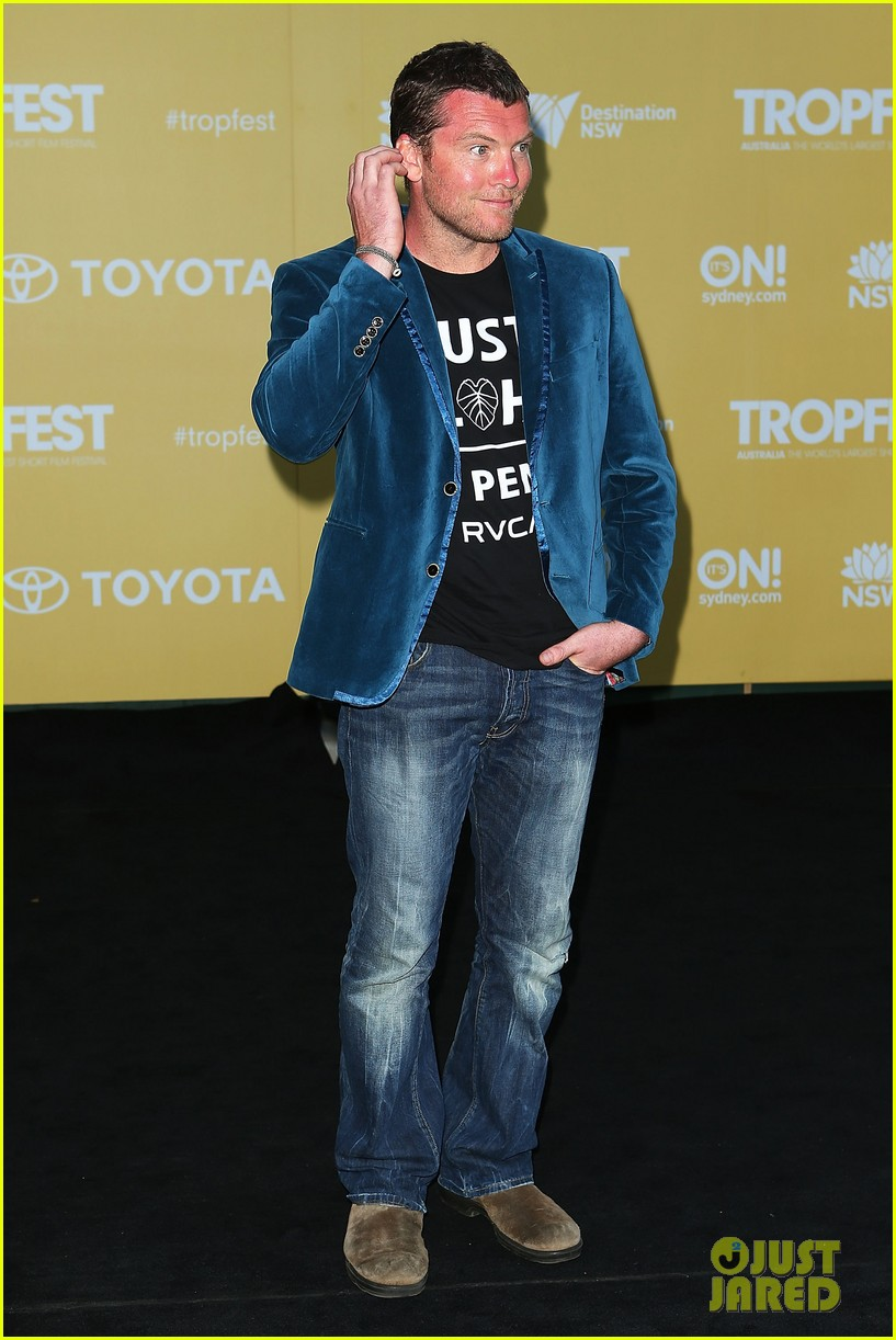 sam worthington tropfest film festival judge 01
