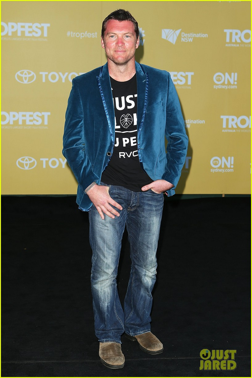 sam worthington tropfest film festival judge 13