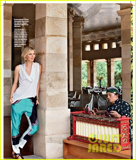 maria sharapova covers conde nast traveller russia 022813757