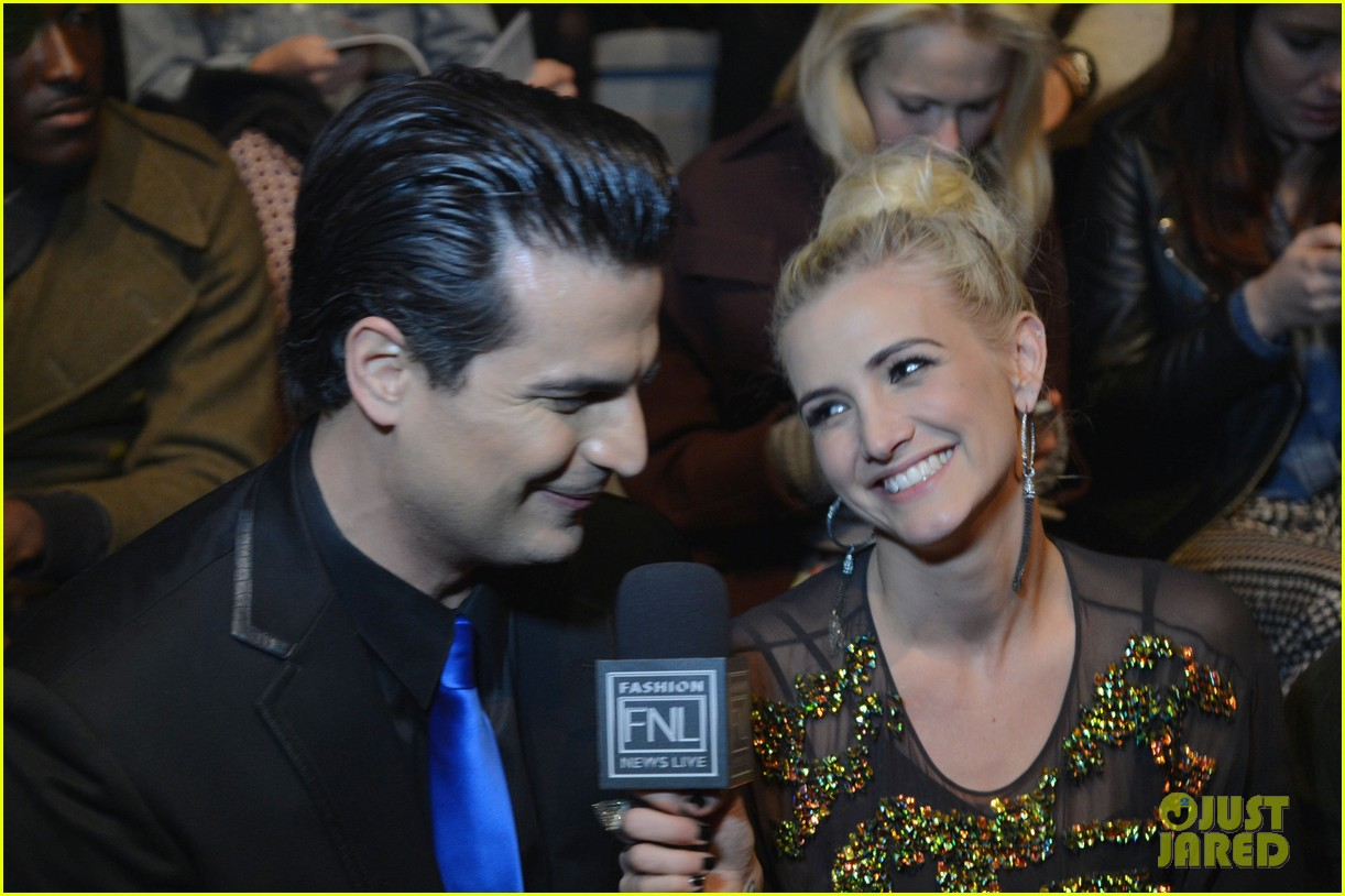 ashlee simpson christina ricci richard chai fashion show 20