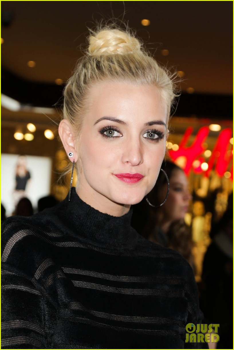 ashlee simpson garnier fructis fashion week celebration 19