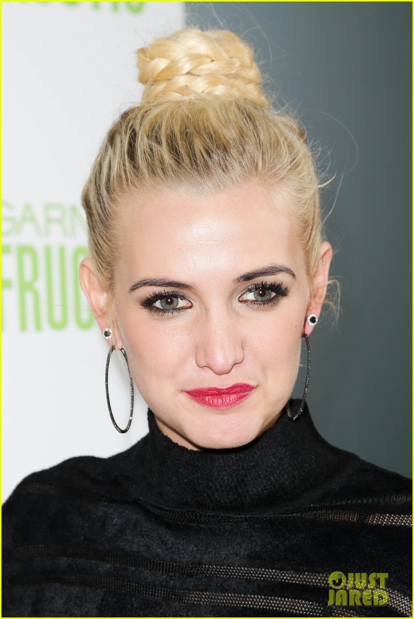 ashlee simpson garnier fructis fashion week celebration 28
