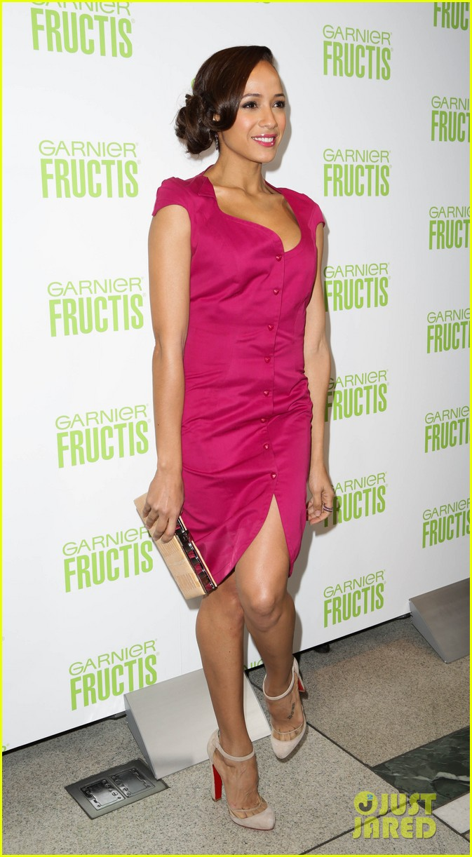 ashlee simpson garnier fructis fashion week celebration 32
