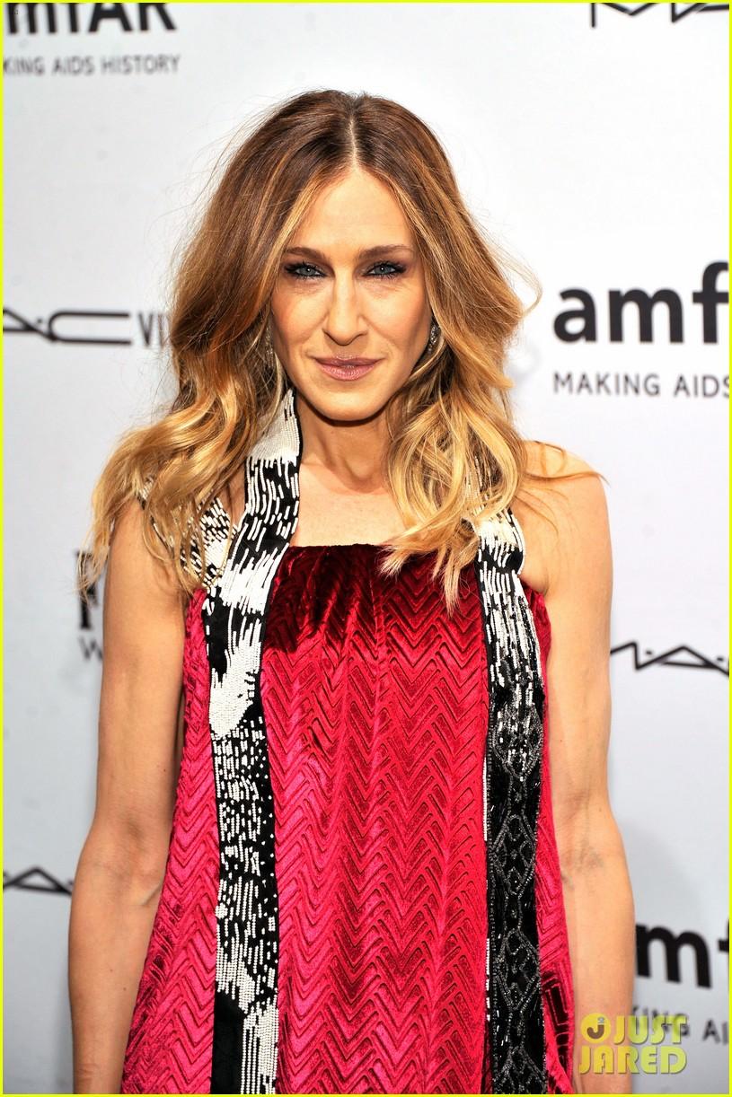 sarah jessica parker amfar new york gala 2013 09
