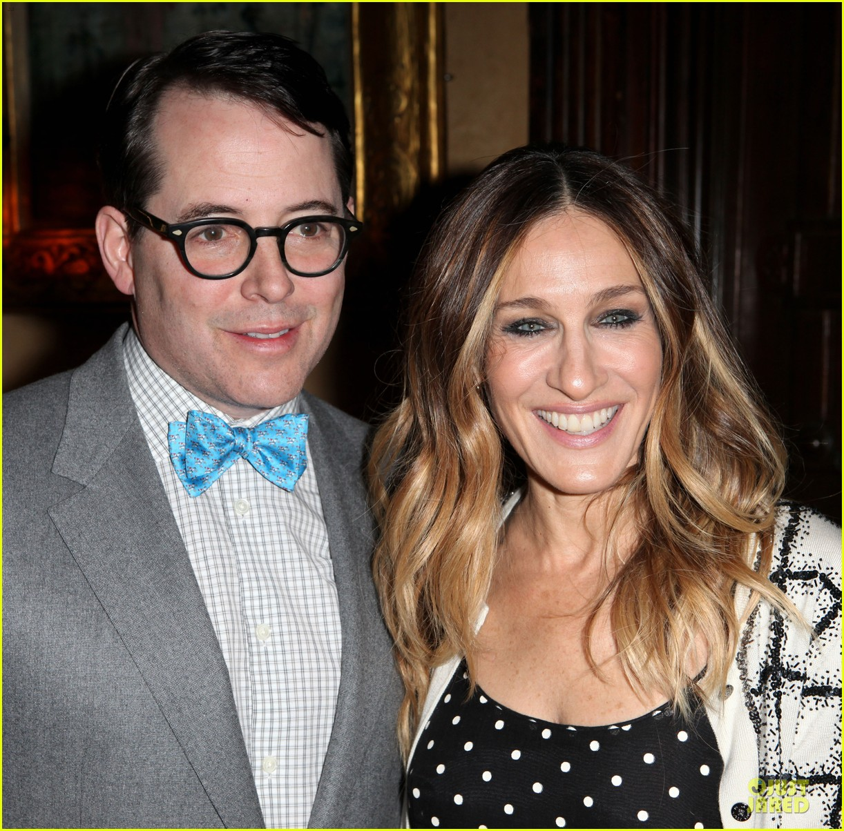 sarah jessica parker matthew broderick love n courage benefit 11