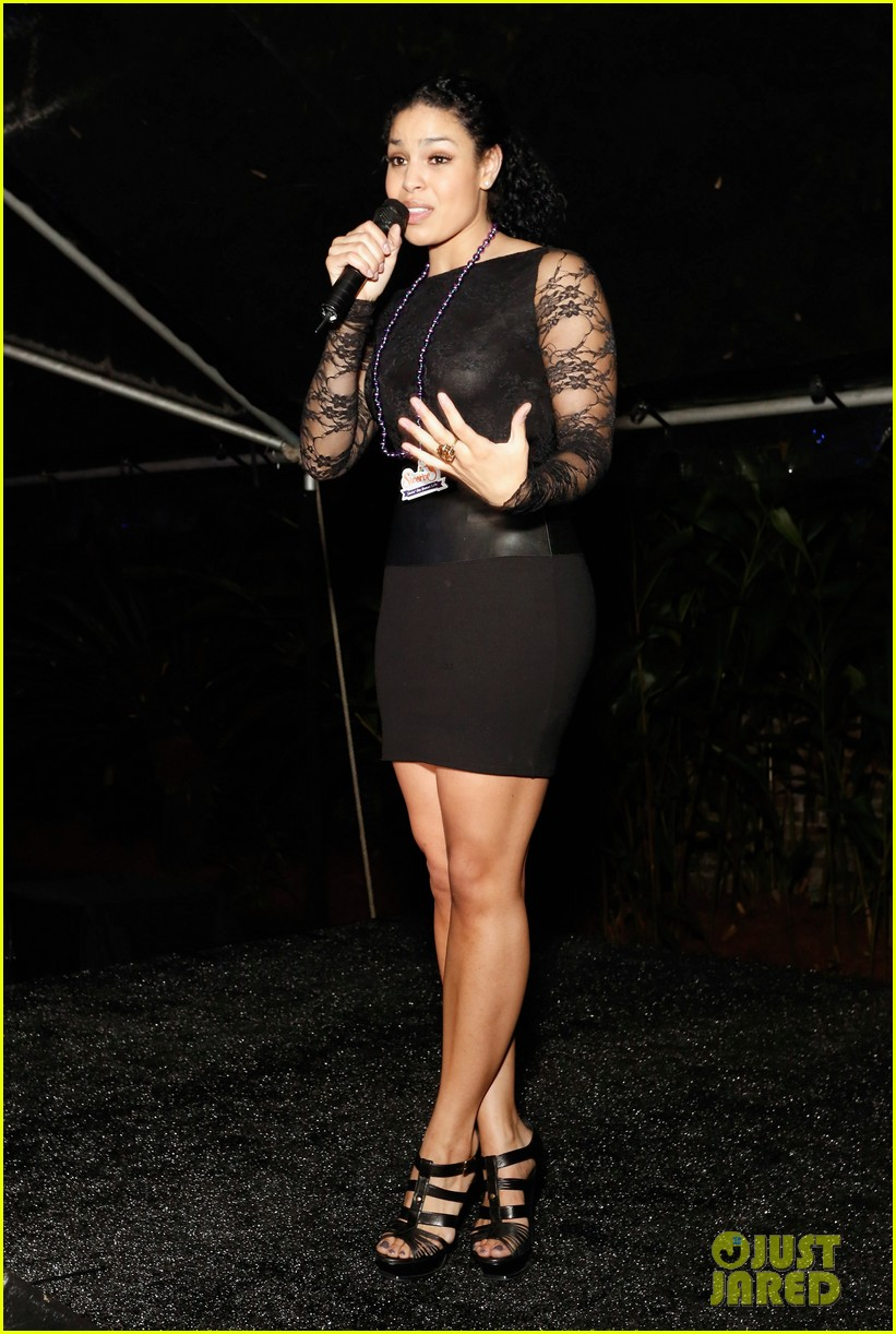 jordin sparks giving back fund super bowl party 17