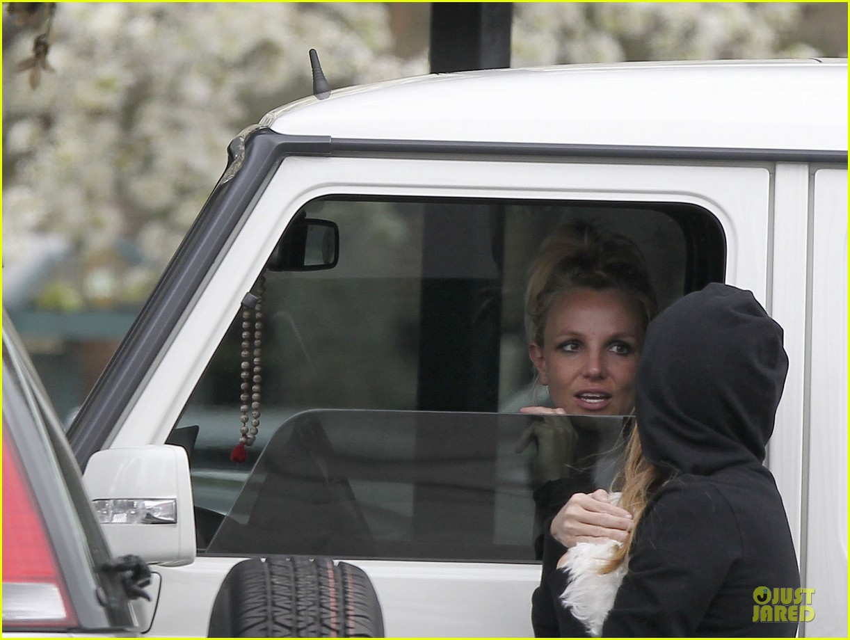 britney spears say good morning to my new baby 092808120