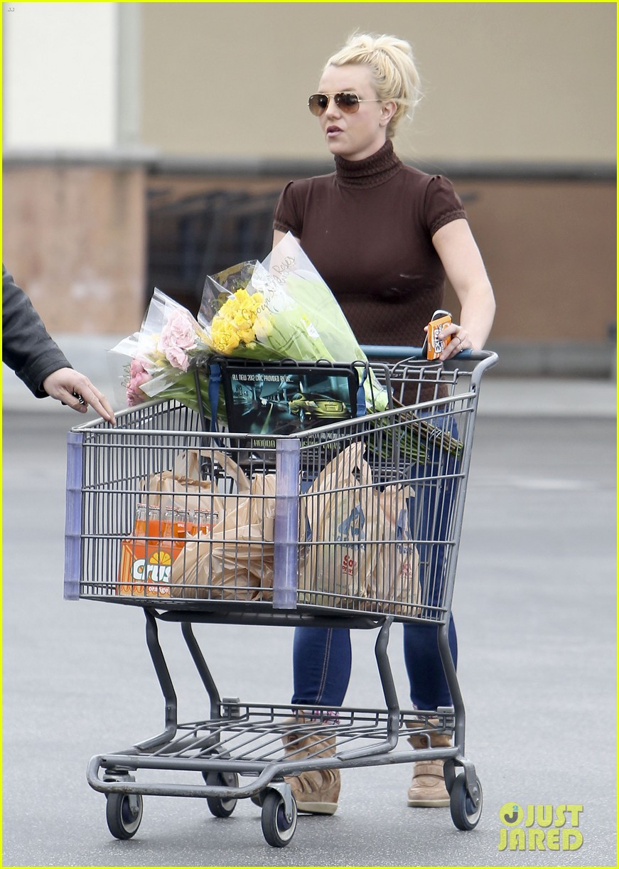 britney spears grocery shopping gal 11
