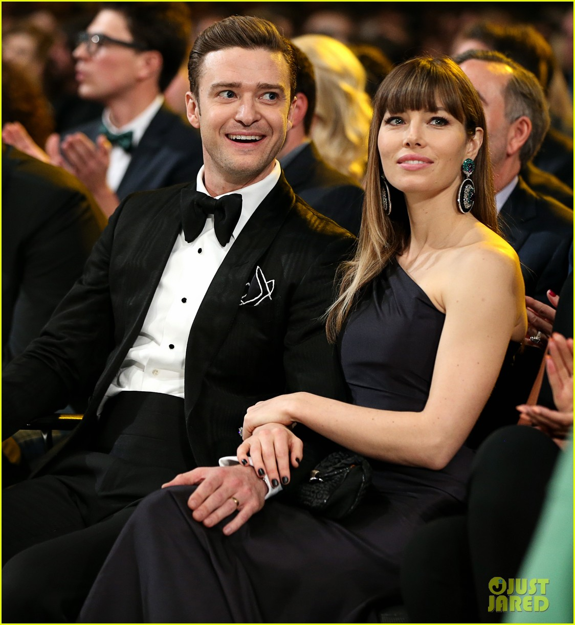 justin timberlake jessica biel grammys 2013 lovers 05
