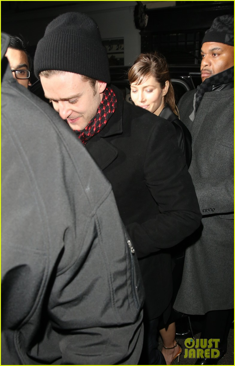 justin timberlake jessica biel brit awards after party 062816346