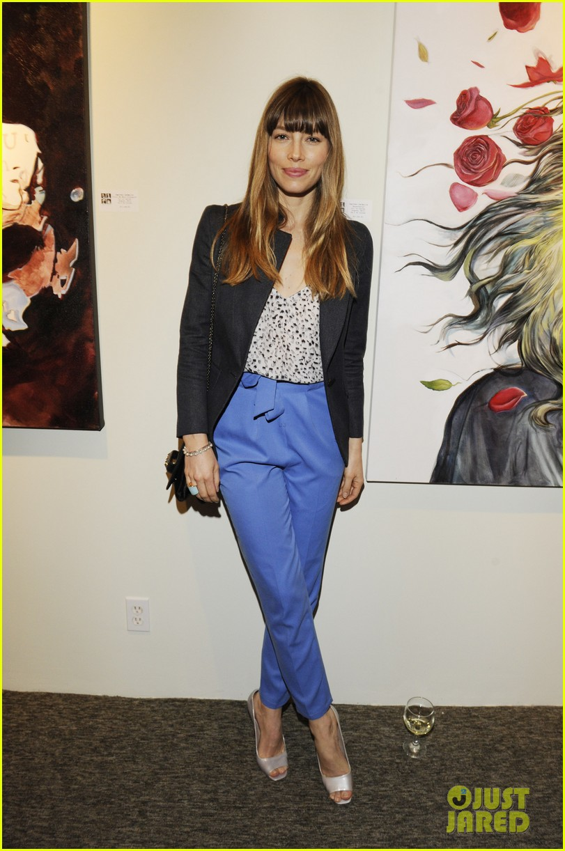 justin timberlake jessica biel nothing you dont know exhibition 03