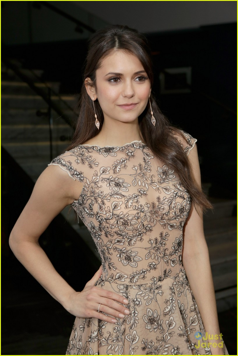 nina dobrev ian somerhalder weinstein pre oscars party with paul wesley 06