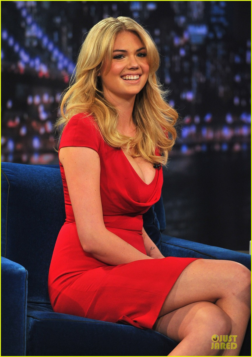 kate upton red hot fallon appearance 02