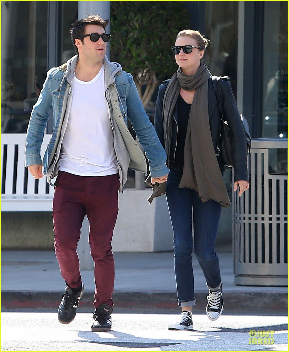 Joshua Bowman couple