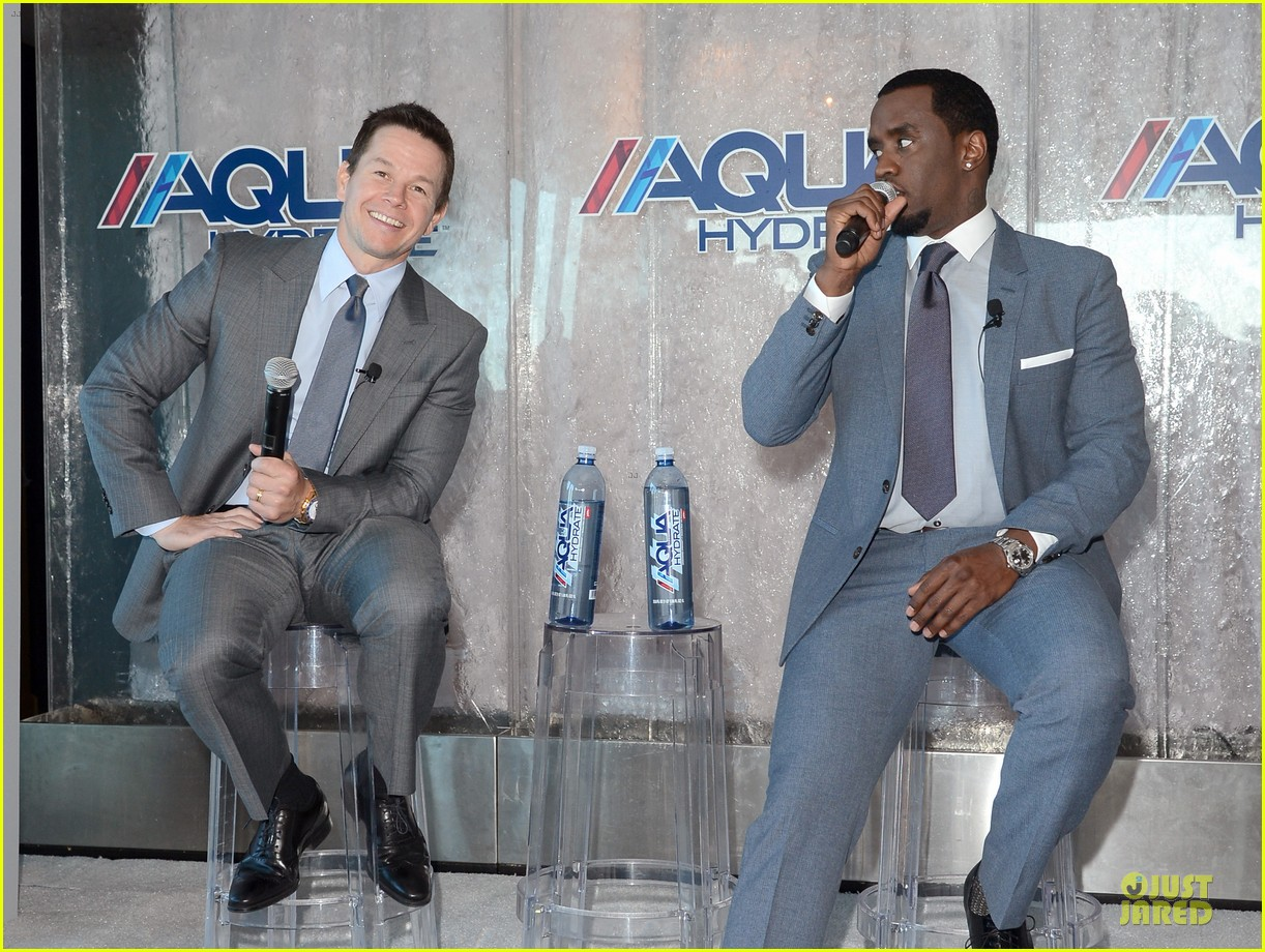 mark wahlberg sean combs aquahydrate press conference 172822026