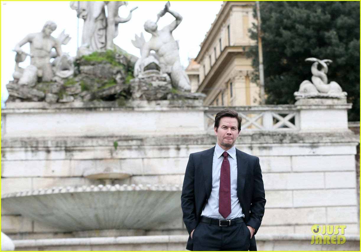 mark wahlberg broken city rome photo call radio visit 14
