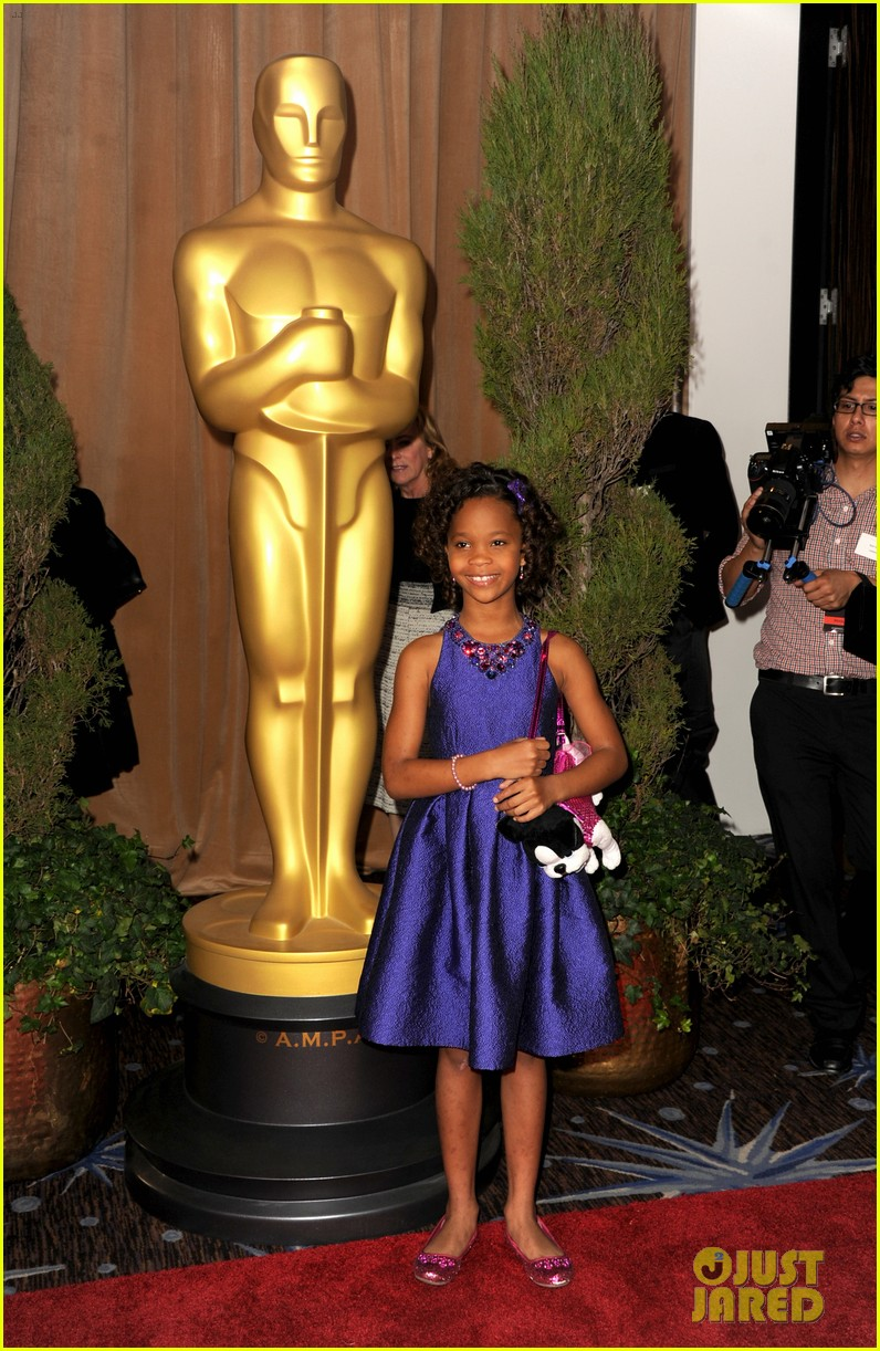 quvenzhane wallis oscar nominees luncheon 2013 08